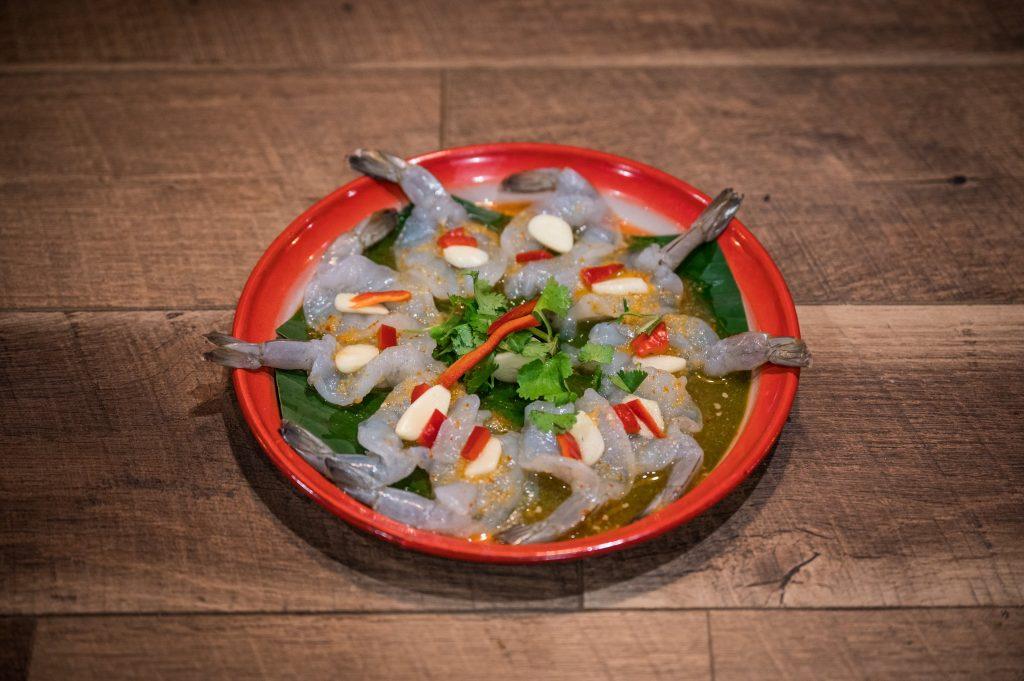 Thai-Styled Shrimp Ceviche